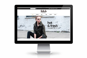 Уебдизайн на онлайн магазин Fetish Fashion Boutique UK